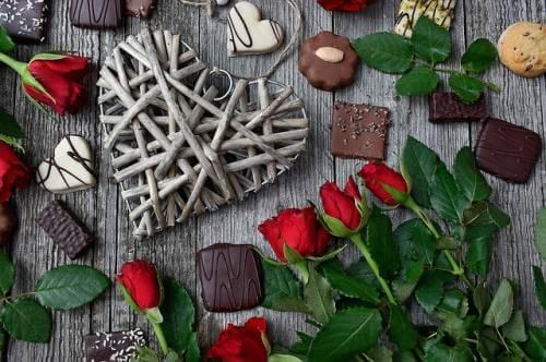 Liebessprüche - Du bist wie Schokolade genauso süss