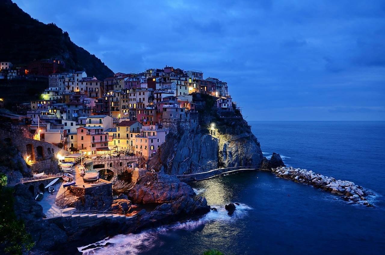 Die Flitterwochen in der italienischen Sonne genießen