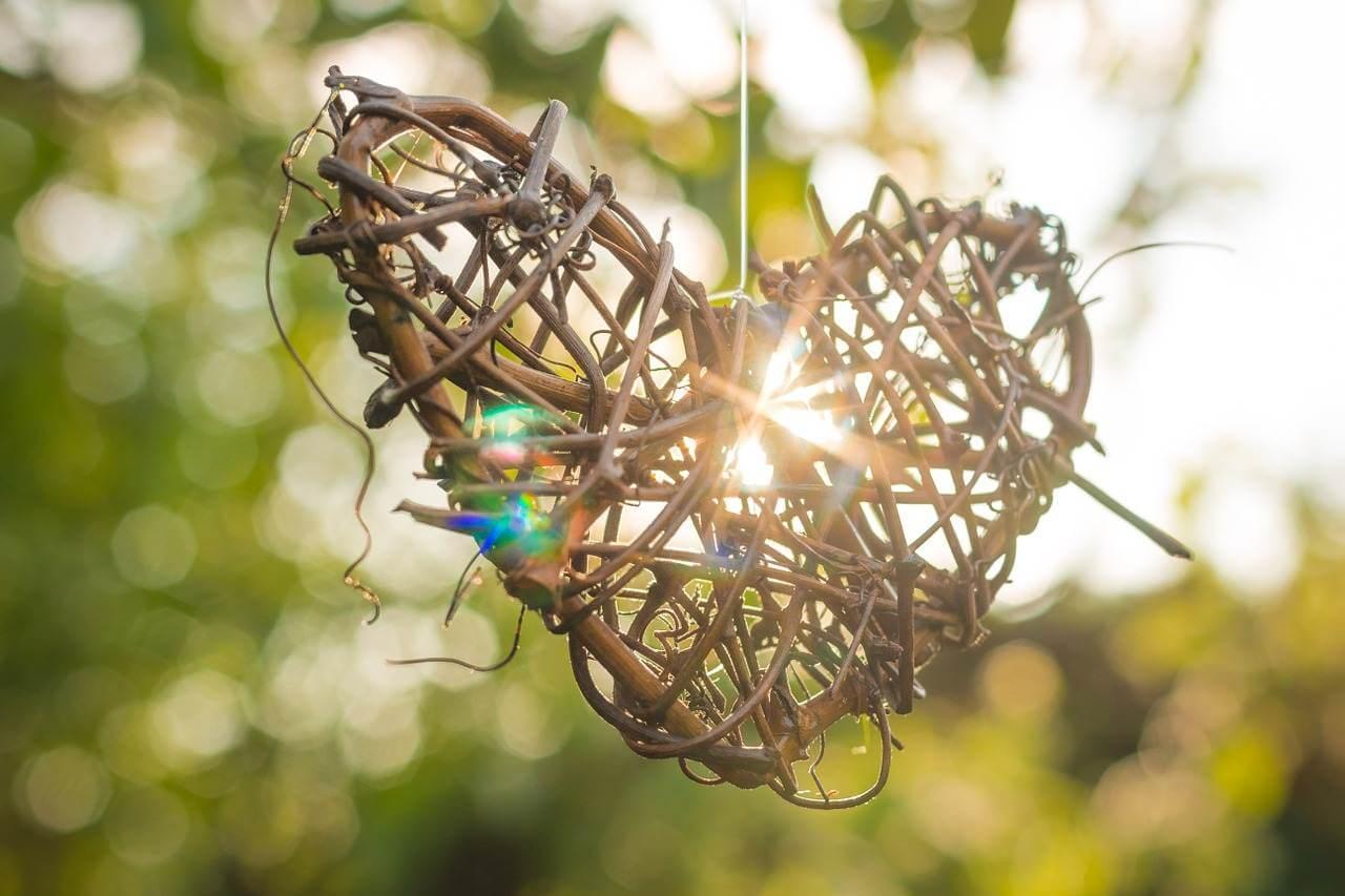 Liebe ist... Spruch - wenn aus dem Herz die Sonne strahlt