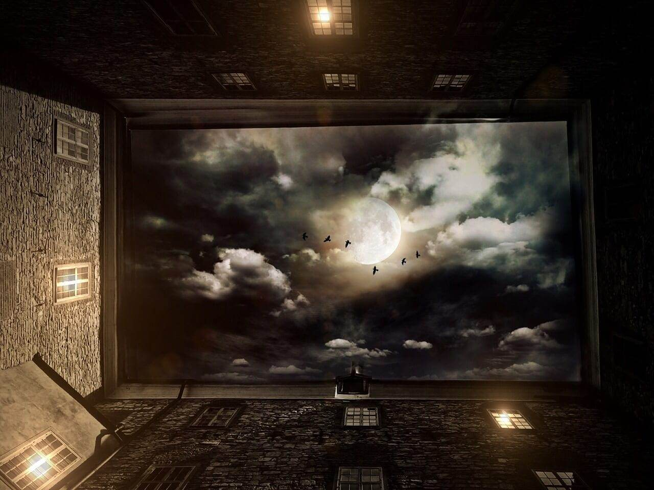 Gedichte über Liebe & Leben – Wolkennacht