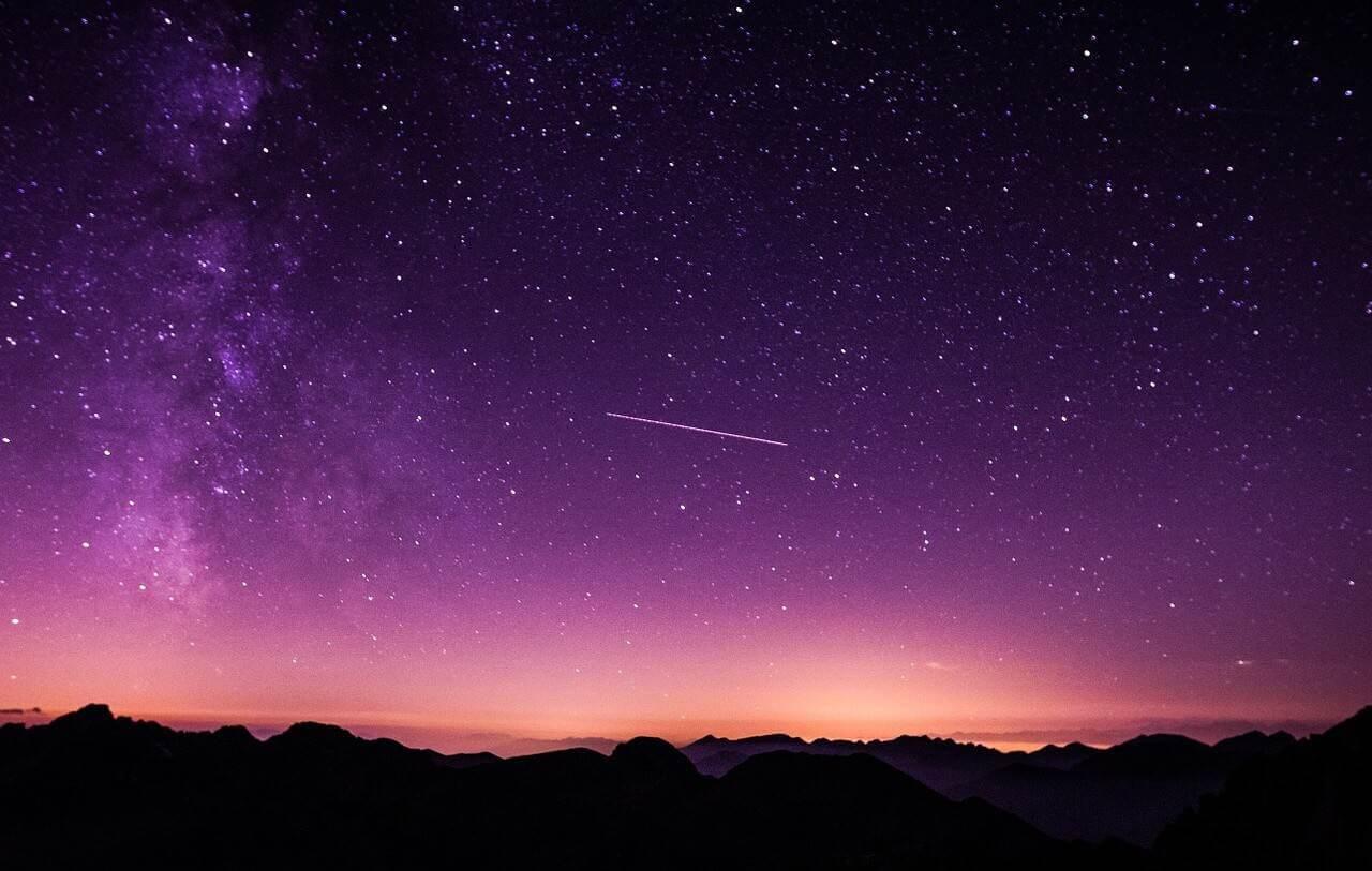 Liebesgediche – Die Sternschnuppe