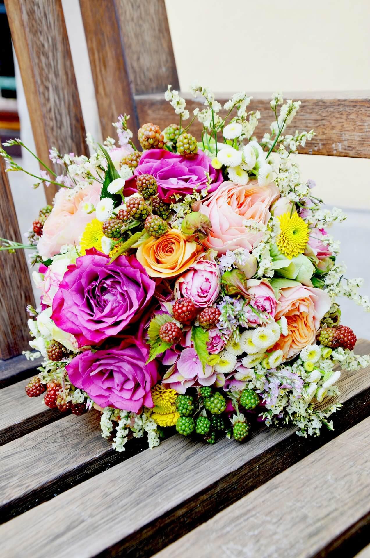 1. Geschenkidee – Blumenstrauß