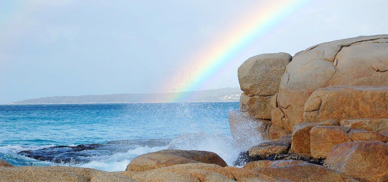 Liebesgedichte - Male den Regenbogen