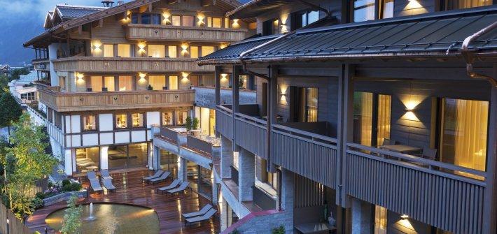 Ein Hotel sorgt für Ruhe und Entspannung