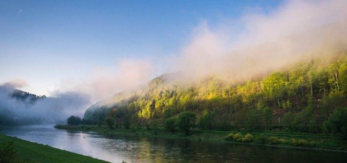 Gedichte über Liebe & Leben - Himmel grau und wochentäglich von Heinrich Heine