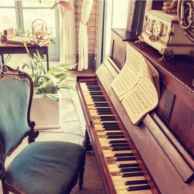 Liebesgedichte – Übung am Klavier von Rainer Maria Rilke