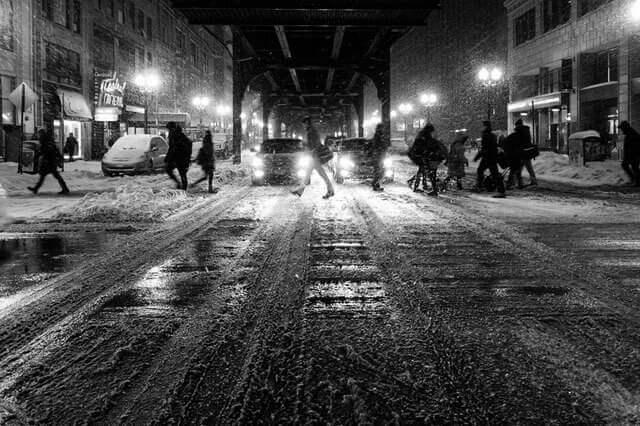 Liebesgedichte – Winternacht von Christian Morgenstern