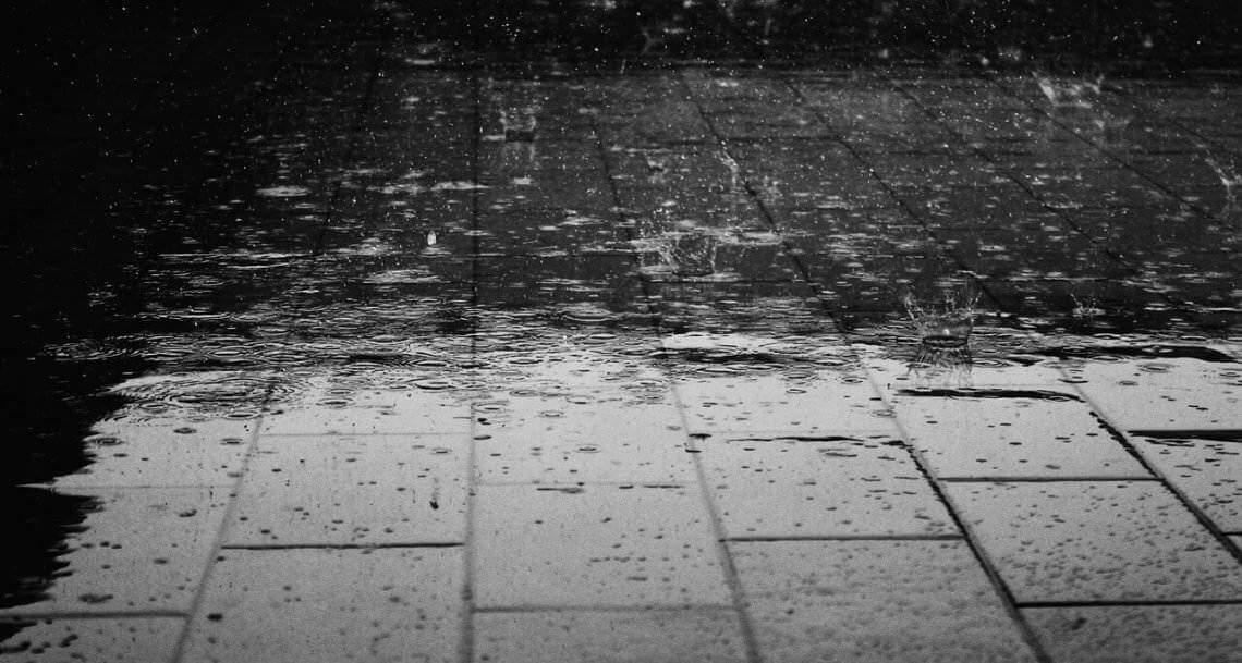 Liebesgedichte – ABSCHIED Ich regne. Du regnest. Er-sie-es regnet