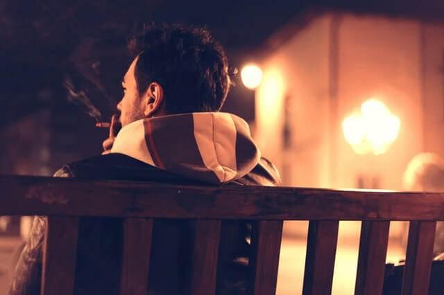 Liebesgedichte – An meinen Zigarettenrauch von Joachim Ringelnatz