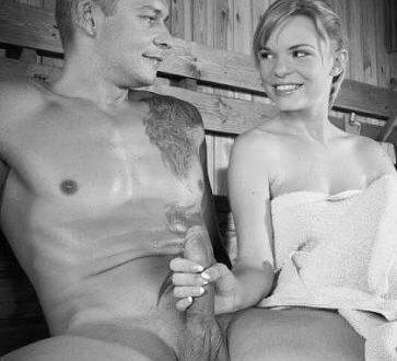 Erotische Geschichten - Der Saunabesuch
